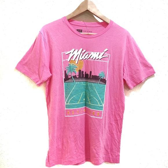 the best attitude b3b9a 6d665 Miami Heat Tshirt Miami Vice